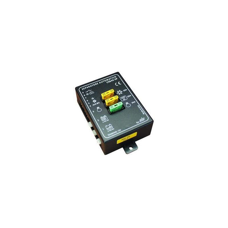 Separador de Baterías CSB 40A 12V