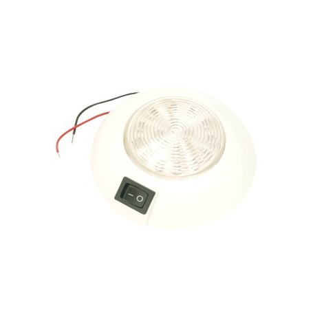 Plafon blanco de 18 LED's