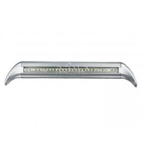 Luz LED avance aluminio gris