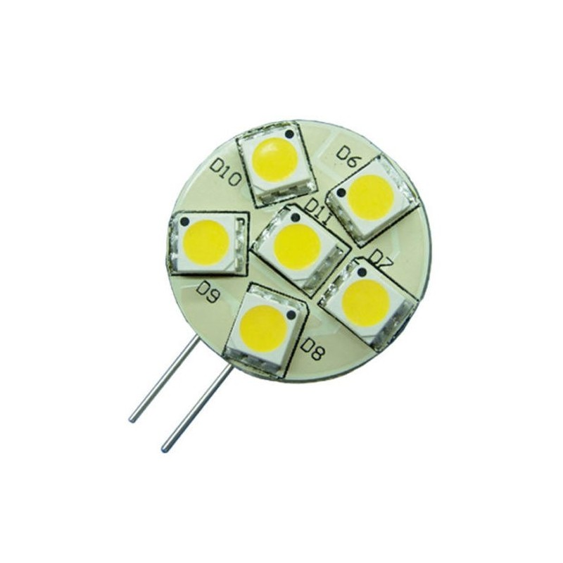 Bombilla pines laterales LED G4 23mm