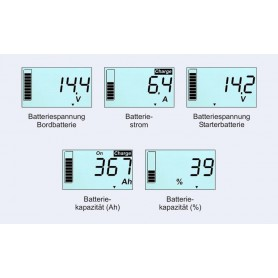 Monitor de baterias Votronic 100S