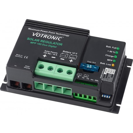 Regulador solar Votronic MPPT 165W