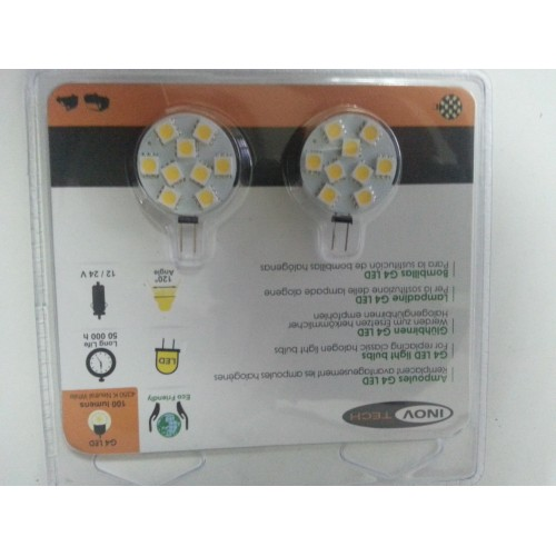 2 Bombillas led G4 100 lumenes