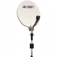 Antena parabólica manual Alden 65cm