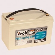 Bateria 100 Amperios AGM Autocaravanas