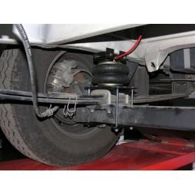 """Suspension neumatica 7"""" Oria regulacion manual Fiat desde 2007"""