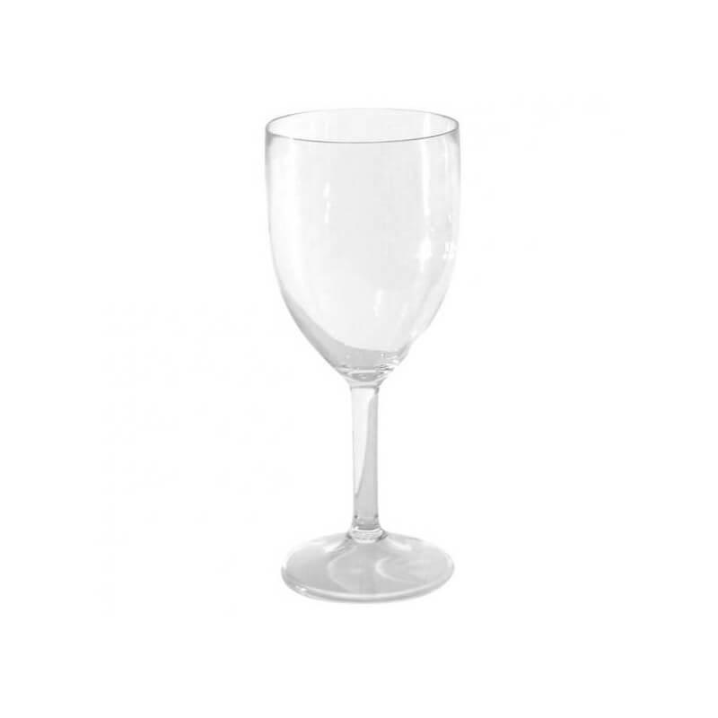 Copas de vino de 20 cl de policarbonato