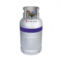 Bombona GLP aluminio 14KG con filtros incluidos