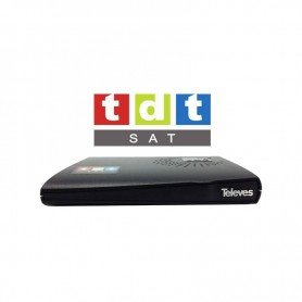 Decodificador TDT Hispasat HD