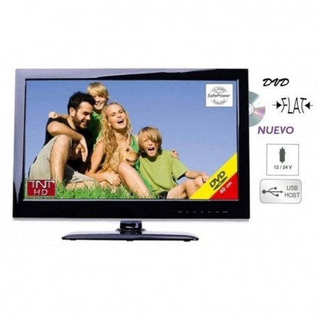 TV LED DVD HD 18,5 Autocaravanas Inovtech Camping