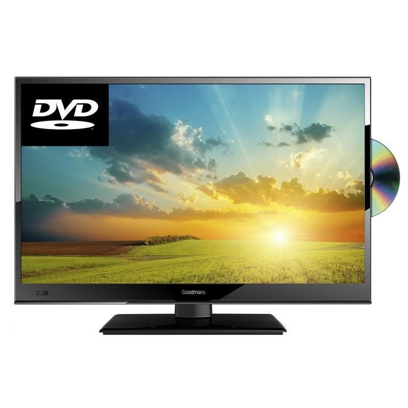 "TV LED DVD HD 22"""