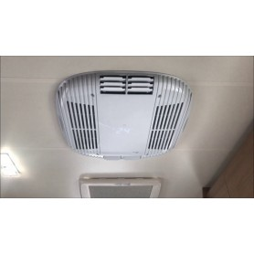 Instalacion aire acondicionado techo autocaravana / caravana