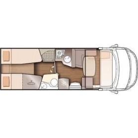 Alquiler autocaravana integral 5 plazas nevis 373