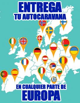 entrega autocaravana en europa